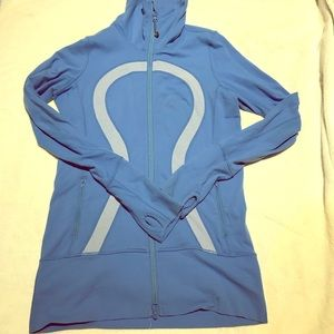 Blue Lululemon Define Zip-Up Yoga/ workout Jacket